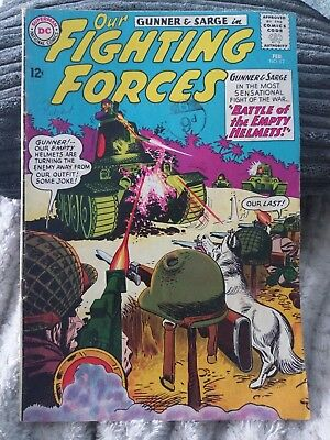 Vintage DC Comic Our Fighting Forces #82