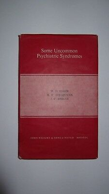 Some Uncommon Psychiatric Syndromes Enoch & Trethowan First Edition  Hardback