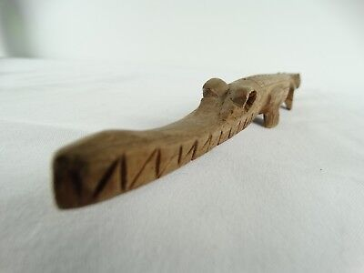 Vintage Sepik River Crocodile Cult Carved Timber Croc Papua New Guinea PNG