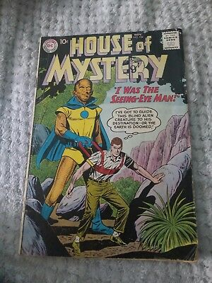 Vintage House Of Mystery DC Comic #104