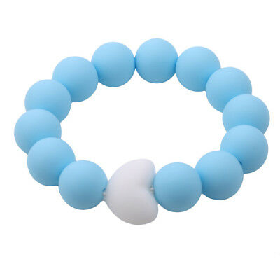 Baby Teething Ring Infant Safety Silicone Tooth Toddler Teether Chew Toys Z