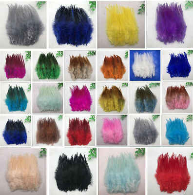 Wholesale!50-1000pcs beautiful high quality rooster feathers 4-6 inches/10-15 cm