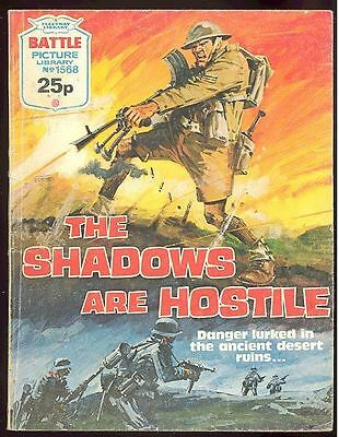 Battle - Fleetway Picture Library Comic No. 1568 - The Shadows are Hostile - War