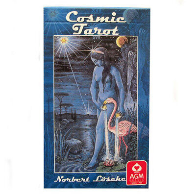 Cosmic Tarot NEW Sealed 78 Color Card Deck Multiple eras imagery Norbert Losche