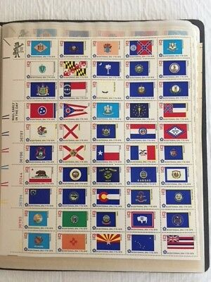 1976 State Flags - Full Sheet Of 50, 13 Cent Stamps - Scott Catalog #1633-82