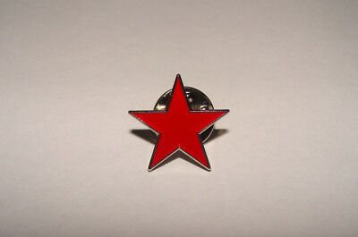 Pin S Metal Etoile Rouge   Enamel  Badge