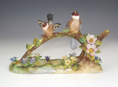 Vintage Crown Staffordshire China - Bird Figure - Signed by J T Jones