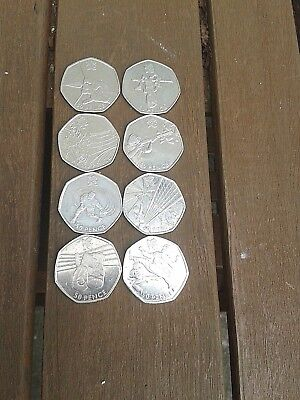 alphabet 10ps-beatrix potter 50ps-olympics 50ps job lot