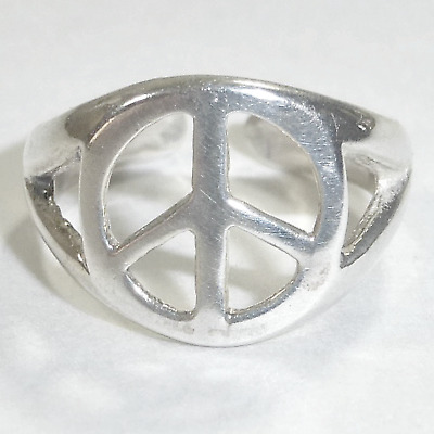 Silpada .925 Sterling Silver Peace Sign Toe Ring O2030  Adjustable