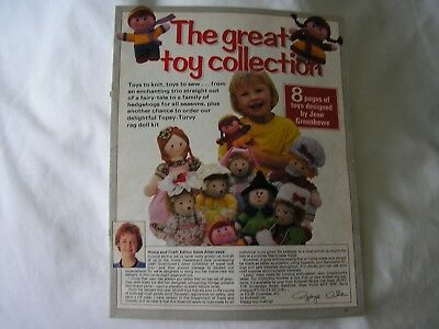 Jean Greehowe,great Toy Collection  Knitting & Sewing Patterns