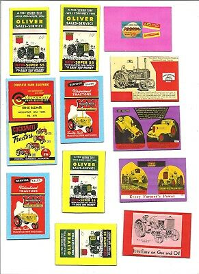 12 Farm Tractor Magnets
