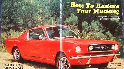 Magazin How To Restore Your Mustang Ford California Dobbs Farr Manual Anleitung