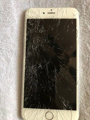 Apple iPhone 6 Plus cracked screen working condition (T-Mobile) 64gb