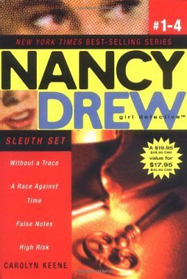 (Good)-Nancy Drew Girl Detective Sleuth Set: Without a Trace/A Race Against Time