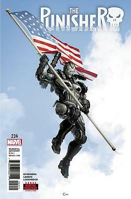 Punisher #225 First Print Frank Castle in War Machine Armor vs Avengers