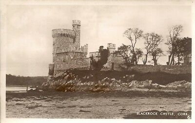 Superb Scarce Old Real Photo Postcard - Blackrock Castle - Cork C.1939