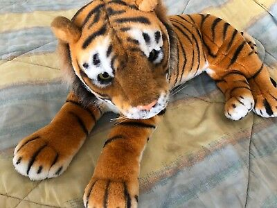 Mei Da Huge Large Big Jumbo 44 Bengal Tiger Plush Stuffed Animal