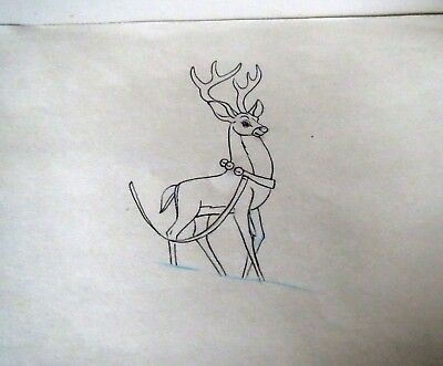 DISNEY BAMBI PRODUCTION ART Illustration Drawing Collection - GOLDEN AGE