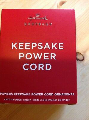 Hallmark 2018 Keepsake Power Cord (Required for LE Disney Christmas Carolers)