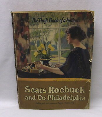 Sears Roebuck And Co Catalog 1923 The Thrify Book Of A Nation