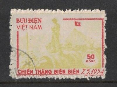 1954 Vietnam Victory SG N 17a fine used