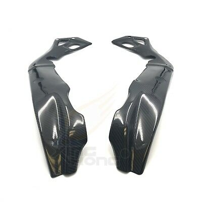 Bestem CBBM-S1K15-FMC-MT Carbon Fiber Frame Covers in Twill Weave for BMW S1000RR 2015-2016