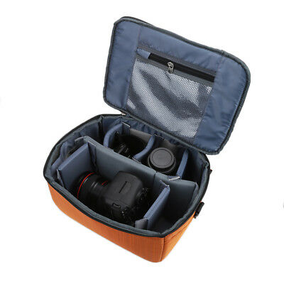 Large DSLR SLR Camera Bag Luggage Insert Handbag Padded Partition Case Lens HS1