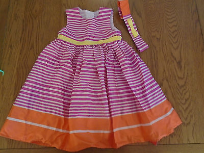 BNWT toddler girl summer outfit - dress & hairband. 18-24 months. George