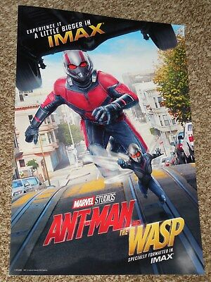 Ant-Man and the Wasp IMAX 13x19 Promo Movie POSTER