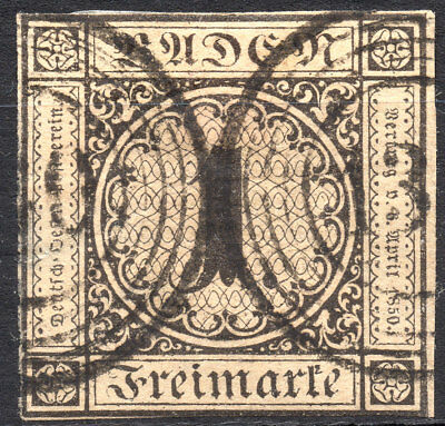 Old Germany Baden used (4184