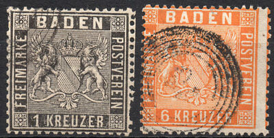 Old Germany Baden used (4191