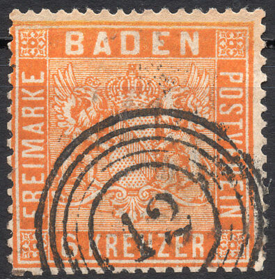 Old Germany Baden used (4192