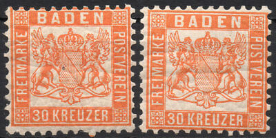 Old Germany Baden MH (4197