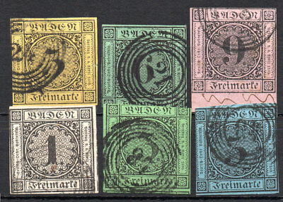 Old Germany Baden used (4198