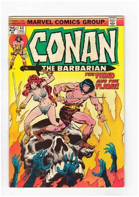 Conan # 44  The Fiend & the Flame grade 6.0 scarce book !!