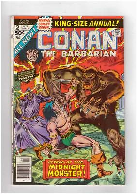 Conan Annual # 2 The Phoenix on the Sword ! grade 9.0 scarce book !!