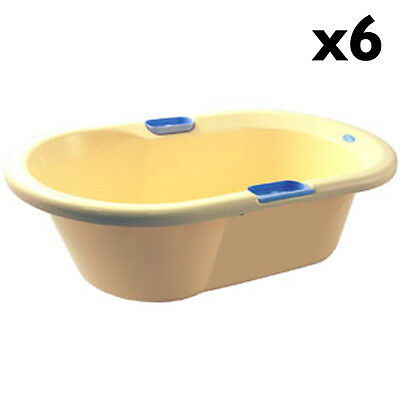 Plastic Baby Baths - Set Of Six - Cp1037X6