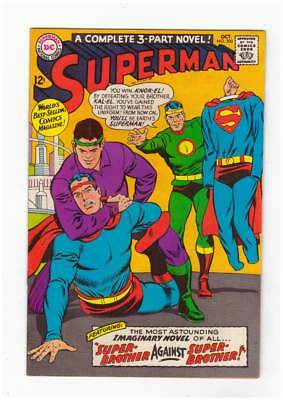 Superman # 200  Brother against Brother !  grade 7.5 scarce book !!