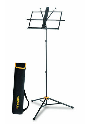 Hercules BS118BB Sheet Music Stand With EZ Grip And Carry Bag (NEW)
