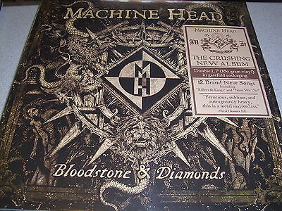 Machine Head - Bloodstone & Diamonds - 2LP 180g Vinyl // Neu & OVP & Gatefold
