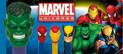 PEZ - Marvel Comics Series - Choose Character from Pull Down Menu- Use for Craft