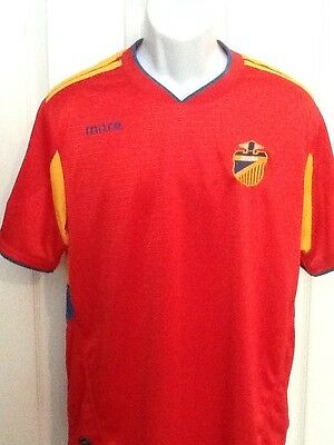 4290fefba MITRE ESPANA SPAIN Soccer Jersey Shirt Mens Large L Lrg Lg Football ...