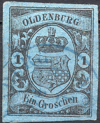 Old Germany Oldenburg used (4222