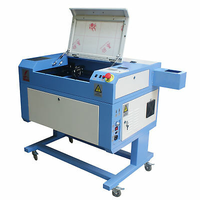 60W Co2 Tube USB Laser Cutter Engraver Cutting Engraving Machine with Stand