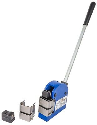 JEGS 81708 Sheet Metal Shrinker & Stretcher 1 in. Jaw Depth Blue Cast Iron Inclu