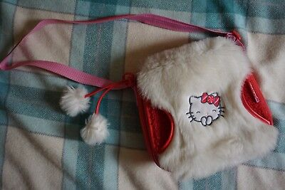 Red Hello Kitty Winter Bag and Matching Wallet