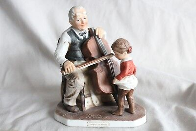 """Grandpa's Little Ballerina"" Norman Rockwell collectible figurine"