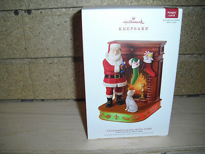 2018 Hallmark Ornament Stockings Hung With Care 8th, Once Upon a Christmas Serie