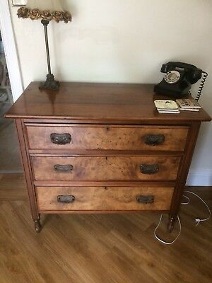 Beautiful Vintage Wood Chest Of Draws
