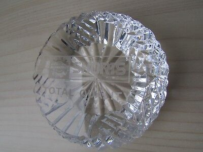 Tyrone Crystal 'shorts / Bombardier Total Quality' Paperweight, Etched Mark.